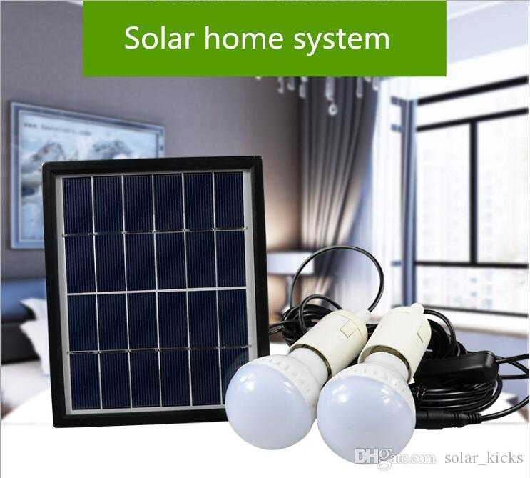 solar kit for home indoor outdoor portable solar powered lighting