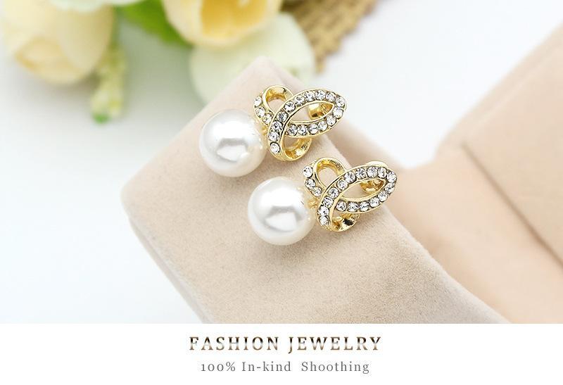 Best Swarovski Elements 18K gold Opal Pendant Necklace Earring Set Fashion Fower Austrian Crystal Jewelry Sets