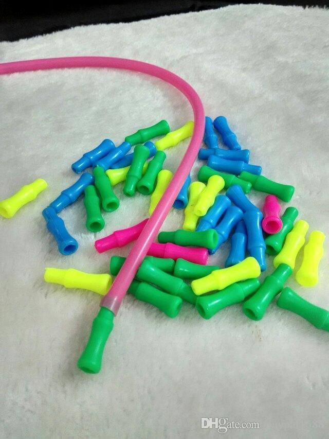 Renkli plastik meme cam bong aksesuarları, Cam Sigara Borular renkli mini çok renkli El Boruları En İyi Kaşık glas
