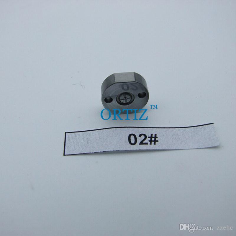 ORTIZ Denso orifice plate valve 02# common rail injector valve plate injector 095000-5210 injector valve orifice