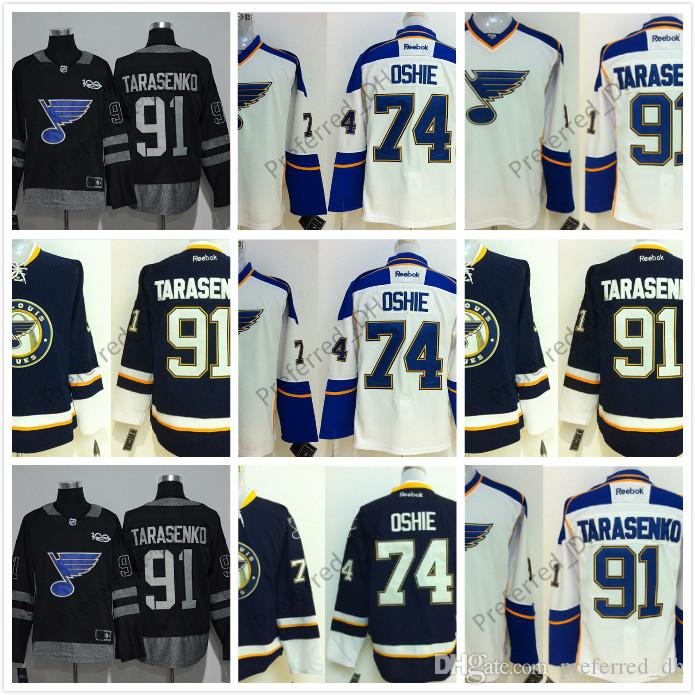 13b8c5e8b95 Customized St.Louis Blues Authentic Personalized Cool Base Jersey 91 ...