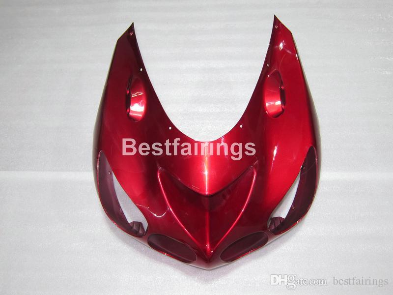 Kit de carénage 7 cadeaux gratuit pour Kawasaki Ninja ZX14R 06 07 08 09 10 11 carénages de moulage par injection blanc rouge ZZR1400 2006-2011 OP18