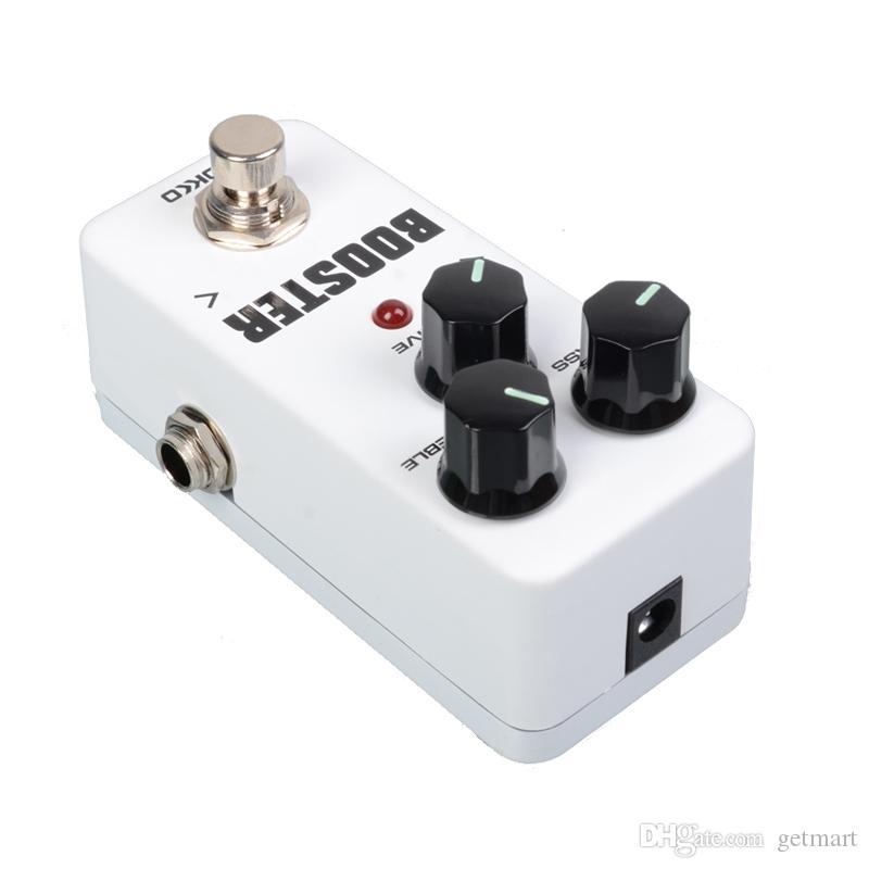 KOKKO FBS2 Mini Booster Pedal Ecualizador de guitarra de 2 bandas con ecualizador de efectos