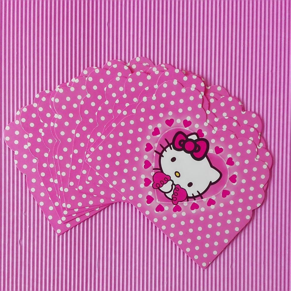 Wholesale cartoon hello kitty invitation card childrens birthday wholesale cartoon hello kitty invitation card childrens birthday party supplies and event decoration party and event supplies 10 romantic birthday cards m4hsunfo