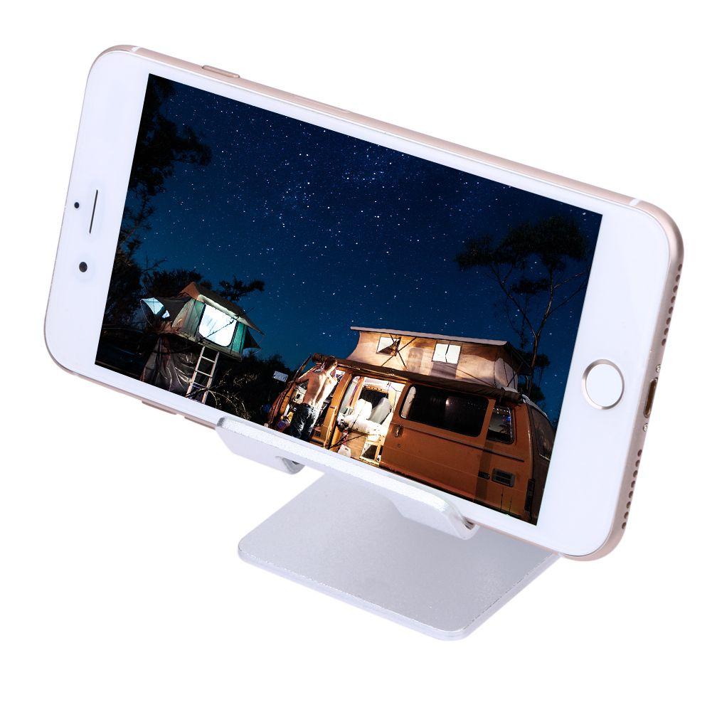 Aluminum Alloy Desktop Stand Holder For iPhone 6 7 6s Plus 5S SE Tablet PC Bracket Holder Phone Stand Mobile Phone Holder