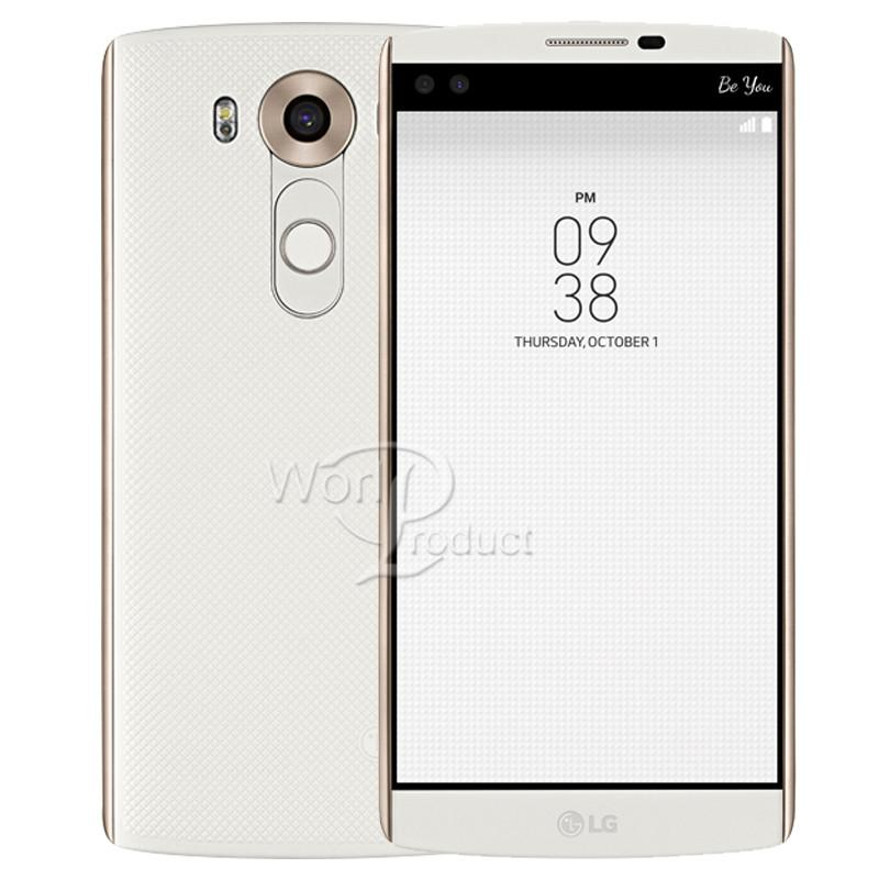 Reburbished الأصل LG V10 5.7 بوصة H900 H901 الهاتف الذكي 4GB RAM 64GB ROM 4G LTE الروبوت الهاتف مقفلة الهاتف المحمول