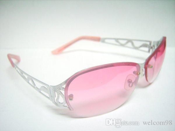 10 قطعة / الوحدة مزيج نمط سيدة المرأة الأزياء والاكسسوارات uv حماية الشمس النظارات الشمسية للعيون GL6