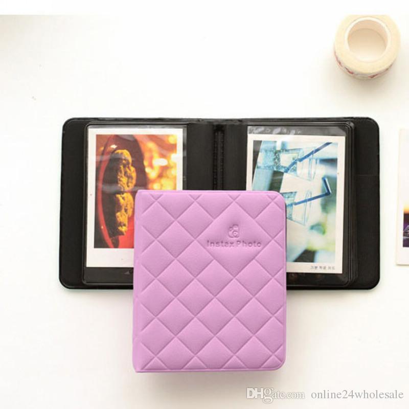 ألبوم الصور كتاب مربع ل فوجي فيلم فوجي بولارويد Instax ميني 8 90 50 70 فيلم حالة للآباء والأمهات عائلة صديقها صديقة هدية