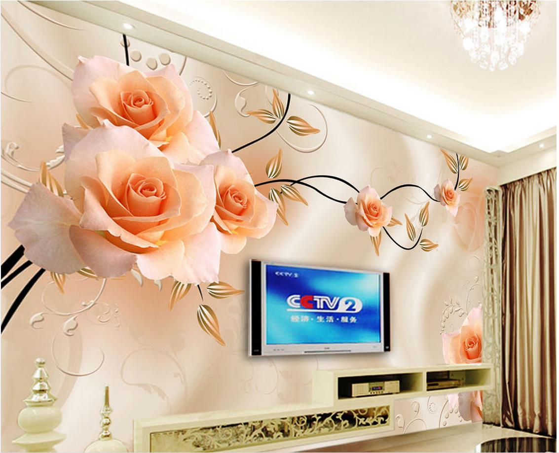 dream rose flower tv wall mural 3d wallpaper 3d wall papers for tv dream rose flower tv wall mural 3d wallpaper 3d wall papers for tv backdrop hq wallpapers widescreen hq widescreen wallpapers from catherine198809100