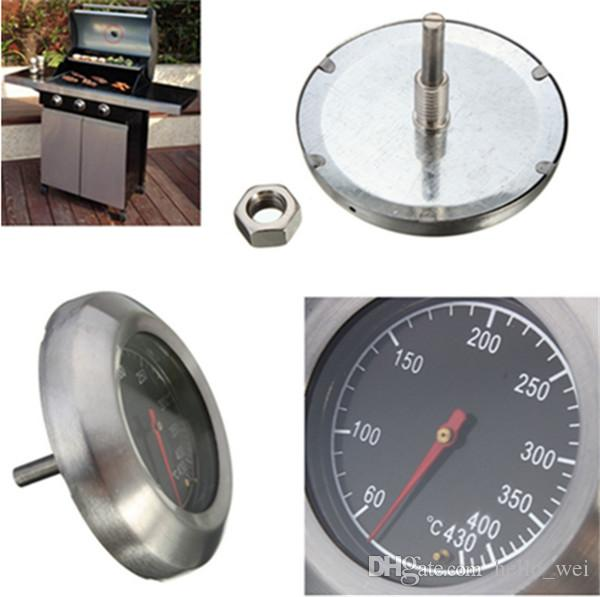 Barbecue BBQ Smoker Grill Stainless Steel Thermometer Temperature Gauge 60-430 Kitchen, Dining & Bar Tools