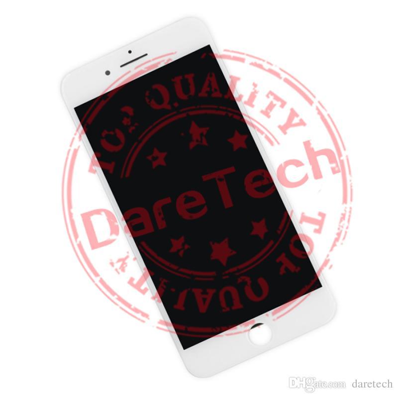 للأبيض والأسود فون 7 7 زائد شاشة LCD تعمل باللمس محول الأرقام الجمعية دي إتش إل الشحن الكامل