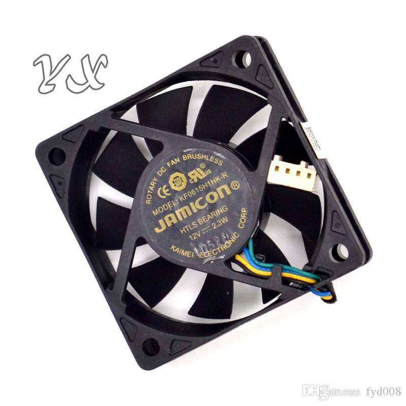 супер тихий охлаждающий вентилятор KF0615H1HK-R DC 12V 2.3 W 4-wire 4-Pin 50mm 60X60X15mm