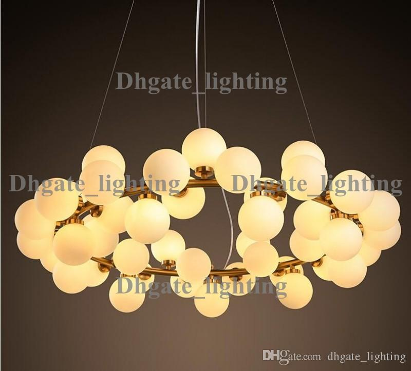 New arrivals village style led round glass pendant lights 2545 new arrivals village style led round glass pendant lights 2545 heads loft light fixture modo led glass pendant light bedroom hanging lights ceiling lights aloadofball Images