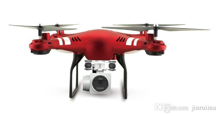 Dronlar Moda Akıllı Yüksek Profil UAV WiFi Profesyonel Yüksek Çözünürlüklü Gerçek Zamanlı Dört Eksenli Hava Uzaktan Kumanda Uçağı