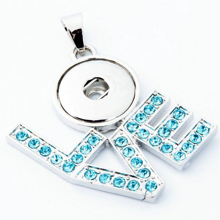 nouveau collier de pendentif fermoir quad-core hot love, montrer le charme de flottant dans la poitrine