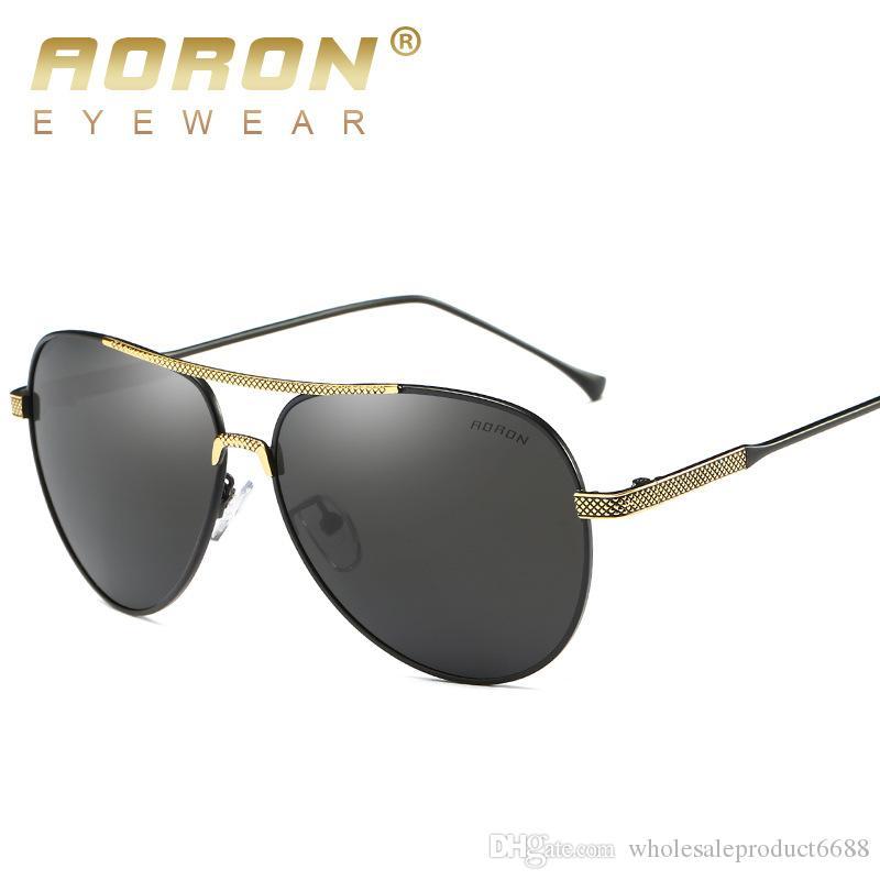 96dc691da99 Aoron Brand Men S Polarized Sunglasses Women S Fashion Designer Sun Glasses  Portable Designer Retro Oculos Goggles Gafas De Sol S380a Victoria Beckham  ...