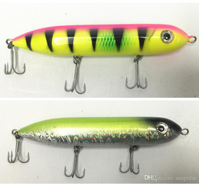 12.5cm/27g Fishing Lure Floating Type Pencil Shape Bait Minnow With China Hook A variety of color choices