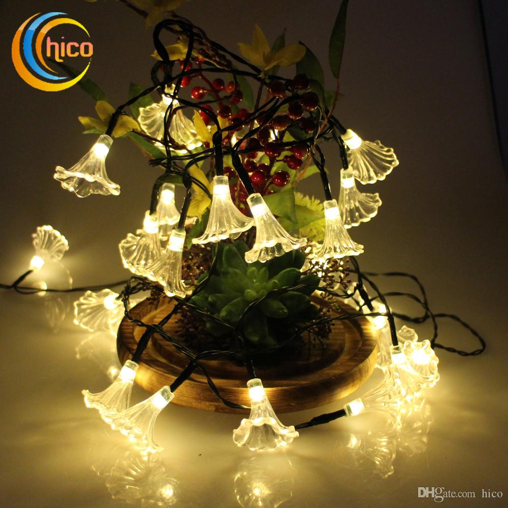 outdoor led christmas lights solar outdoor lights garden morning glory string lights 48m 20 leds solar power outdoor waterproof led string lights globe