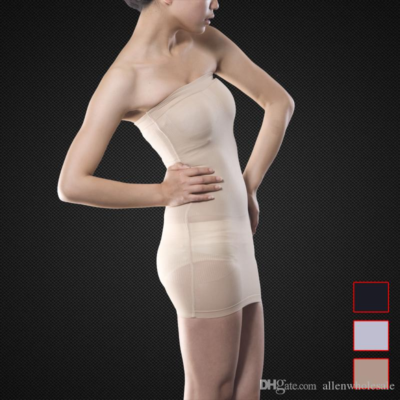 26fcd0fa31 2019 Wedding Dress Underwear Slimming Seamless Slim Tubes Magic Skirt  Shapewear Wholesale From Allenwholesale