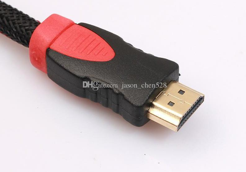 Hot HDMI cable HDMI Male to 3 RCA Video Audio AV Cable Adapter For HDTV DVD 1080P