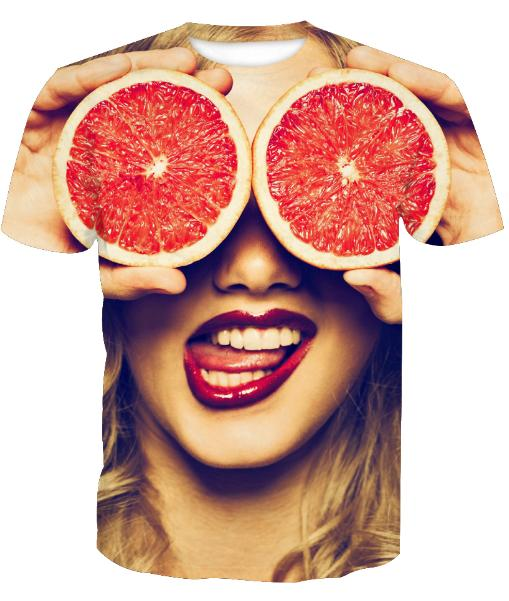 bf516f90c1b1 Newest Fashion Mens/Womans Grapefruit Funny T Shirt Summer Style Funny  Unisex 3D Print Casual T Shirt AA390 Design And Buy T Shirts Tee Shirt  Online ...