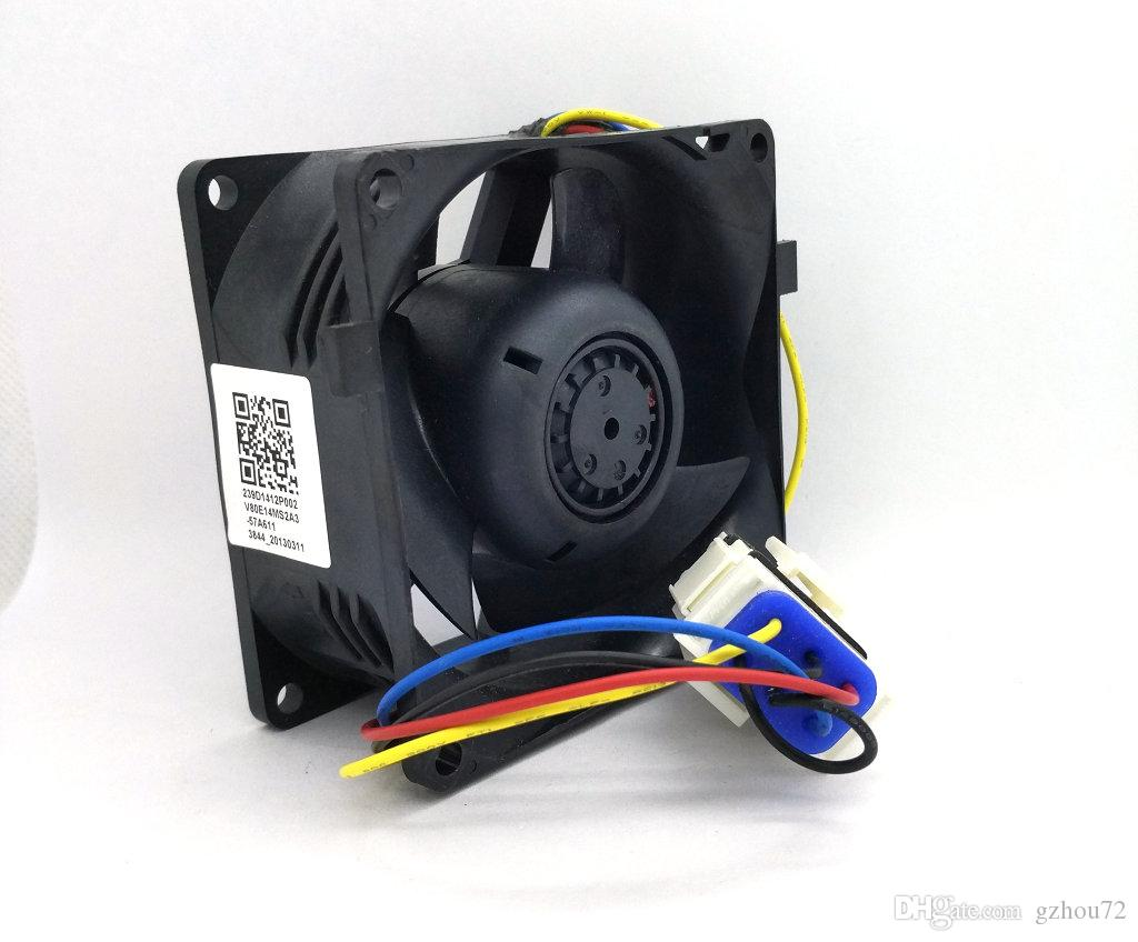 New Original NIDEC 13.6V 0.16A 8038 8cm 80*80*38MM V80E14MS2A3-57A611 3914D J1 E 239D1412P002 Computer server cooling fan