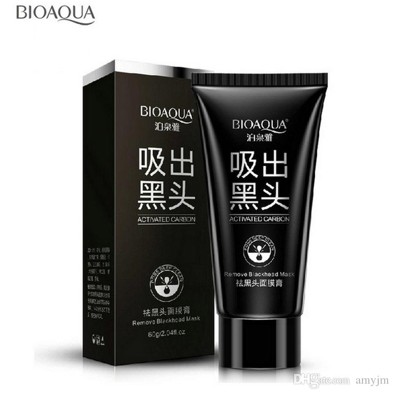 BIOAQUA blackhead black Face mask Care Suction Black Mask Facial Mask Nose Blackhead Remover Peeling Peel Off Black Head Acne Treatments