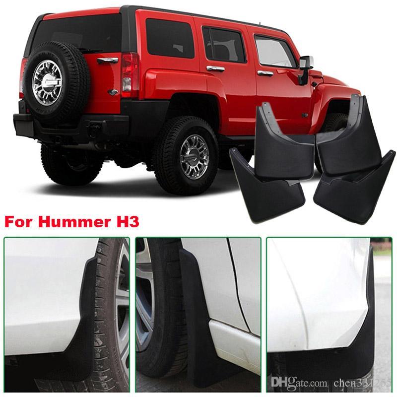 Hummer H3 Brand New 4 pezzi di alta qualità ABS parafango paraspruzzi parafango auto parafango