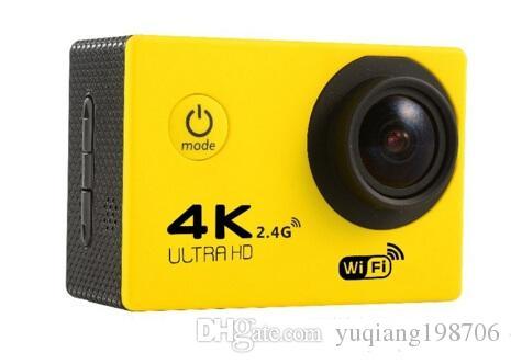 """4K Action camera F60 Allwinner 4K/30fps 1080P sport WiFi 2.0"""" 170D Helmet Cam underwater go waterproof pro camera MQQ:"""