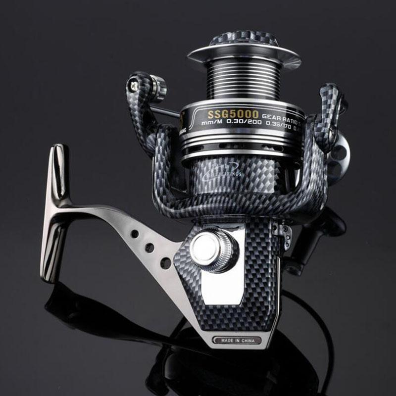 Spool Fish Reel 12+1BB Ball Bearings Spinning Fishing Reel Reels Speed Gear SSG 1000/2000/3000/4000/5000/6000/7000