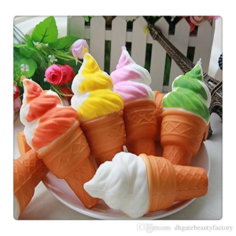 Kawaii Ice Cream Squishy Jumbo Squishies Slow Rising Pendant Phone