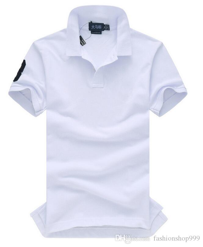 2017new hohe qualität Sommer Heißer Verkauf Polo t-Shirt USA Amerikanische Flagge Marke Polos Männer Kurzarm Sport Polo Mann Mantel Drop Kostenloser Versand