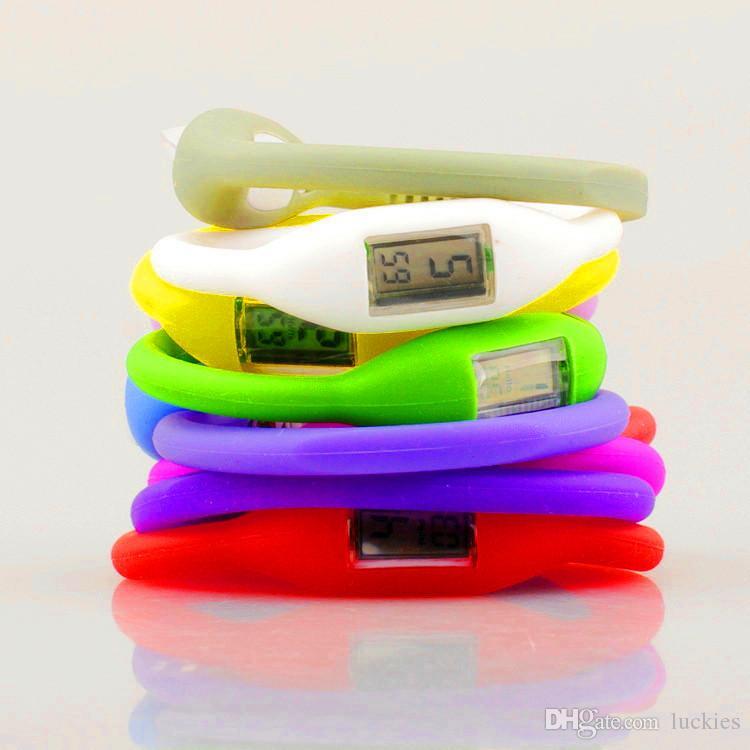 La vigilanza dell'orologio del silicone del braccialetto del polso negativo dell'anione osserva la vigilanza dello ione della gelatina di gomma degli uomini delle donne degli uomini