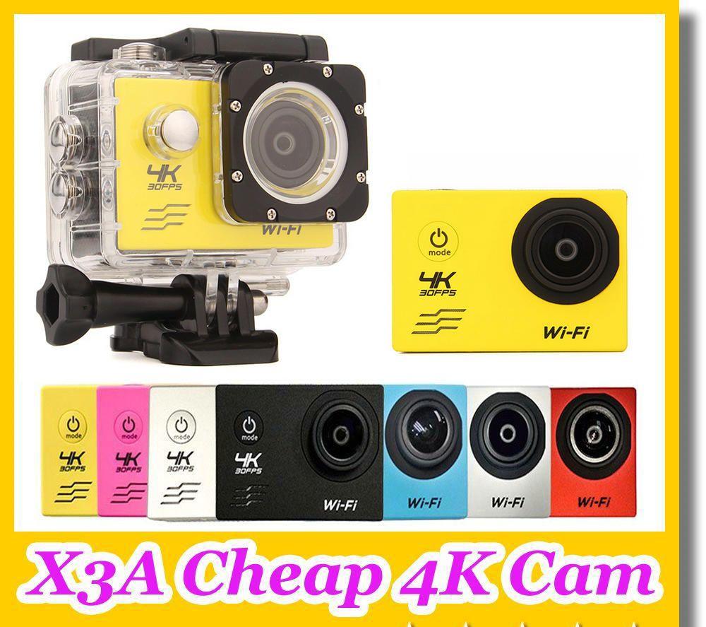 4K Action camera F60 Allwinner V3 4K/30fps 1080P/60fps 720P/120fps WiFi  2 0