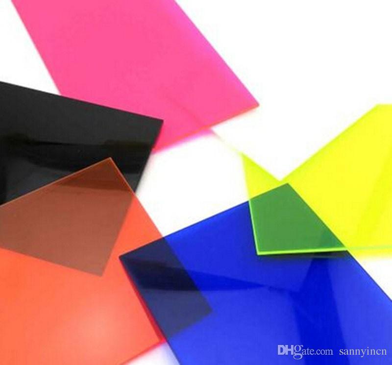 Discount 2.8*200*300mm Color Transparent Acrylic Sheet Plexiglass ...