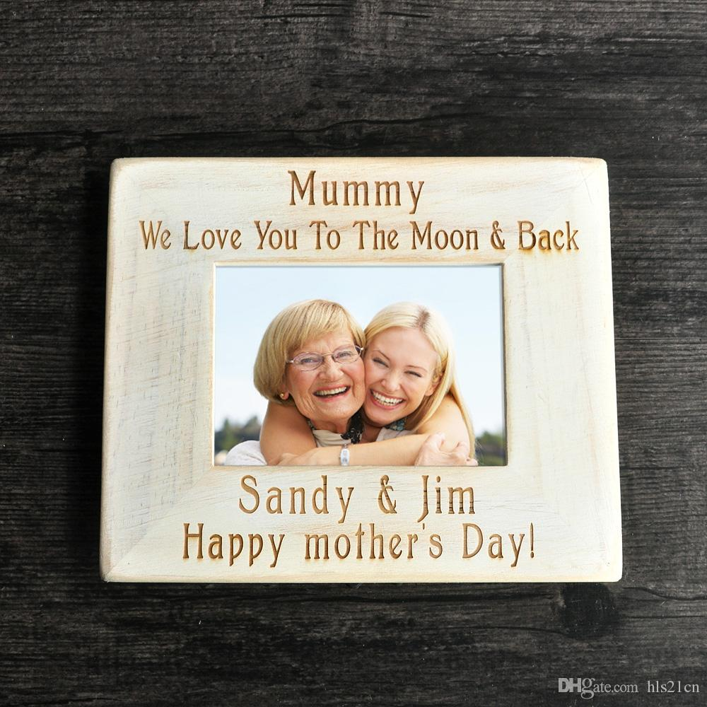 2018 Mom Picture Frame, Custom Picture Frame , Wood Frame,Mother\'S ...