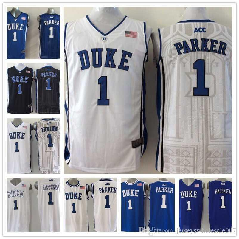 770ac230 ... australia 2019 duke blue devils 1 kyrie irving college jerseys 100  stitched basketball shirts embroidery logos ...
