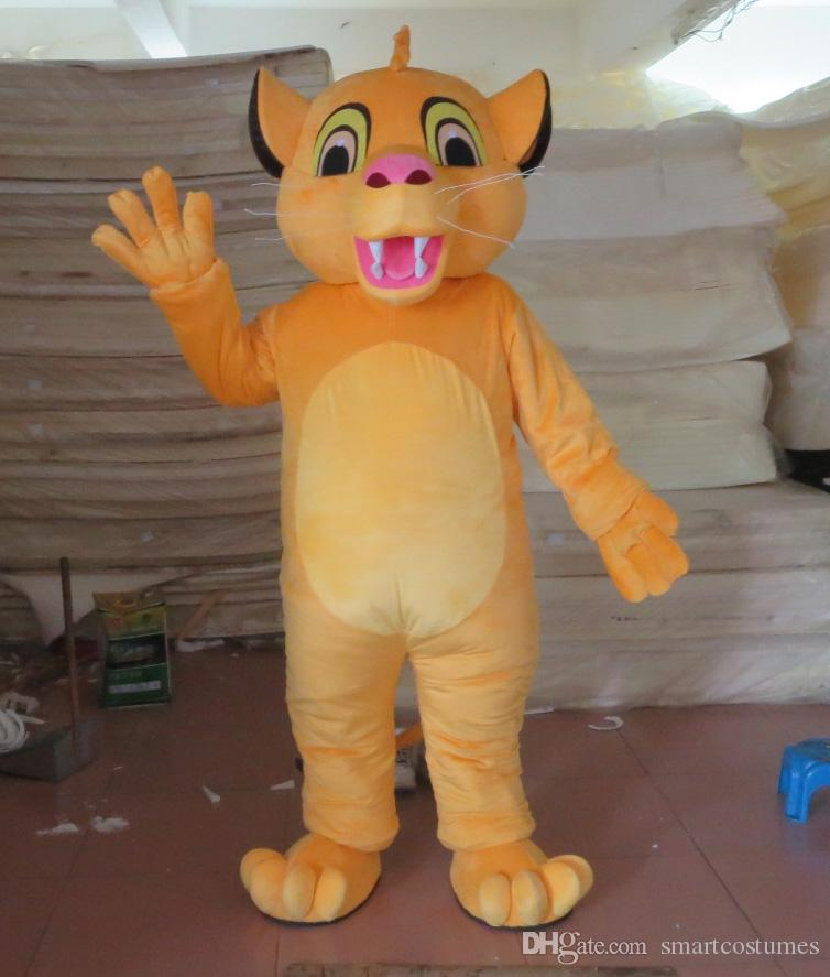 Sm0511 100% Real Photos Little Lion King Simba Lions Mascot Costume For Adult To Wear For Sale Cowgirl Costume V&ire Costumes From Smartcostumes ... & Sm0511 100% Real Photos Little Lion King Simba Lions Mascot Costume ...