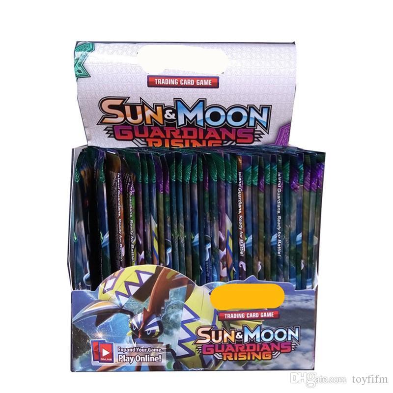 / set جديد بوكر تداول بطاقات الشمس والقمر نموذج بطاقة بوكر للأطفال الأطفال أنمي حزب كارتون مجلس الألعاب ألعاب DHL