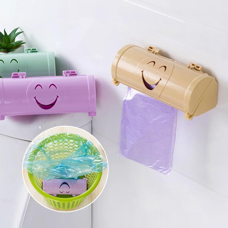 2019 Draw Off Type Disposable Bags Storage Box Garbage Bag Dispenser