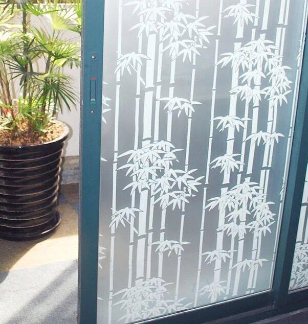 2018 pvc 45200cm bamboo shape glass window film window stickers bedroom bathroom privacy glass stickers home decoration from tongli0410 13 06 dhgate