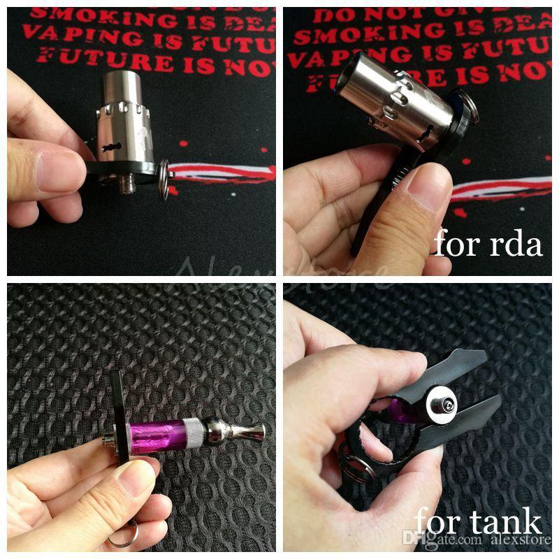 다기능 Vaper Twizer V2.0 랩핑 코 일러 조정 와이어 스패너 Coil Jig Tool RDA Atomizer 용 Ecig 클램프 Vape Vapor Tweezer SV3