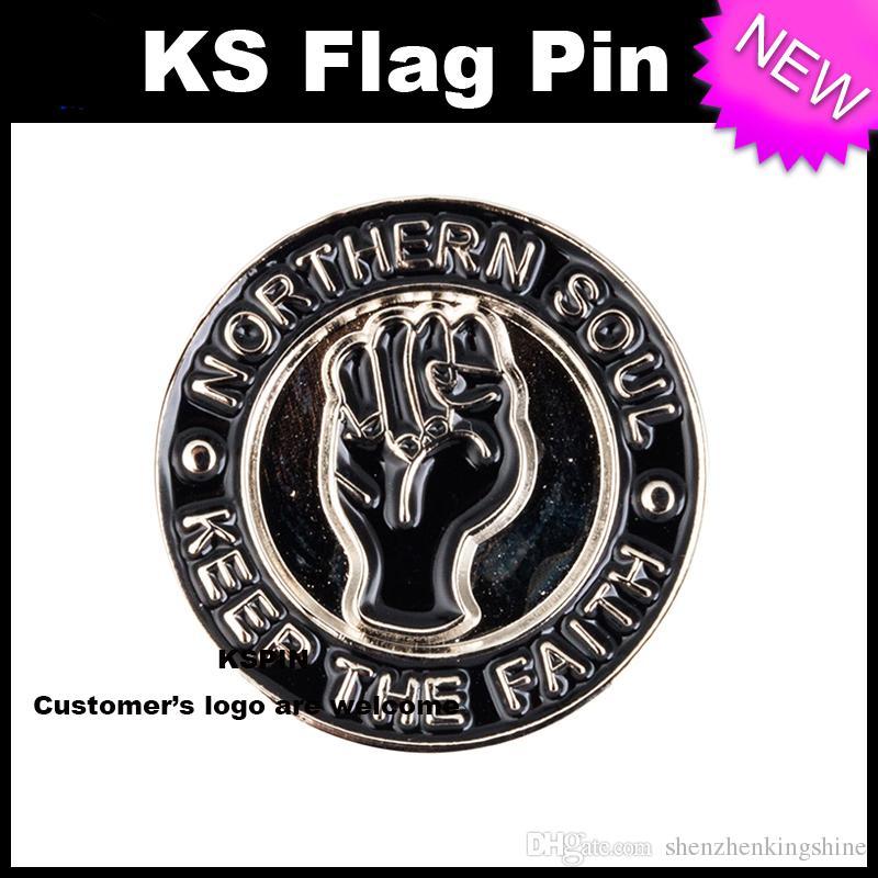 Albero Metal Badge Pin molto Spedizione gratuita XY0033