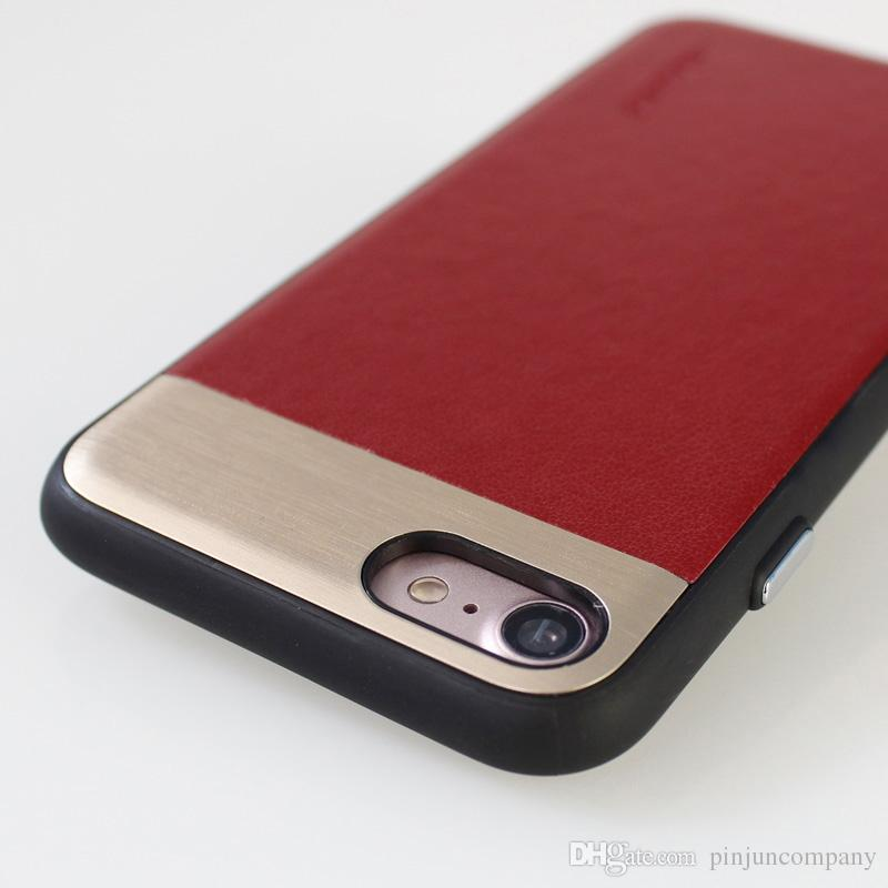 Armor case For Samsung galaxy j2 prime j1 mini prime S6 edge S7 edge Huawei GR3 GR5 TPU + PC +PU+ metal case