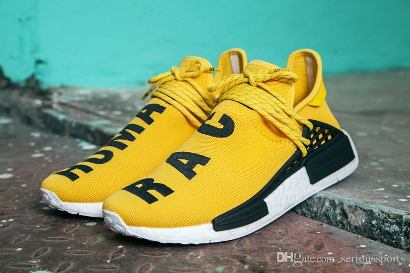5e64bac4e 2017 New Human Race Pharrell Williams X NMD Sports Running Sneakers ...