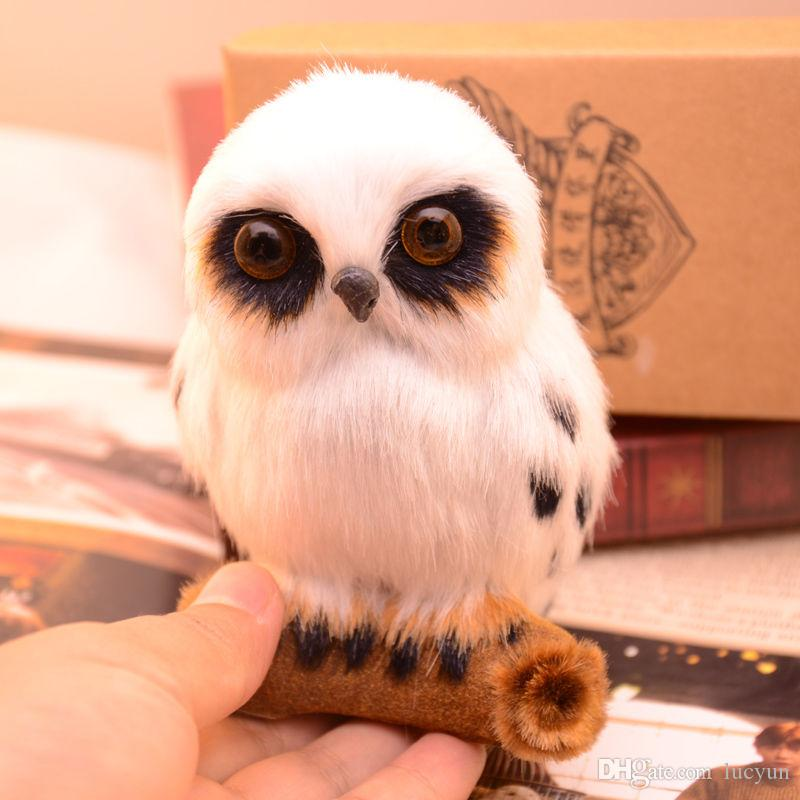 2018 Harry Potter Magical Creatures Hedwig Owl Collection Decoration 107cm From Lucyun 2011