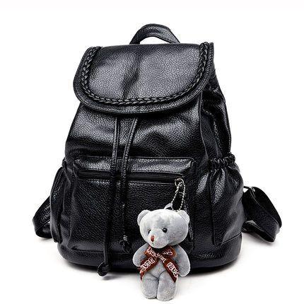 Toposhine Fashion Women Backpack For Girls 2017 Leather Backpacks ...