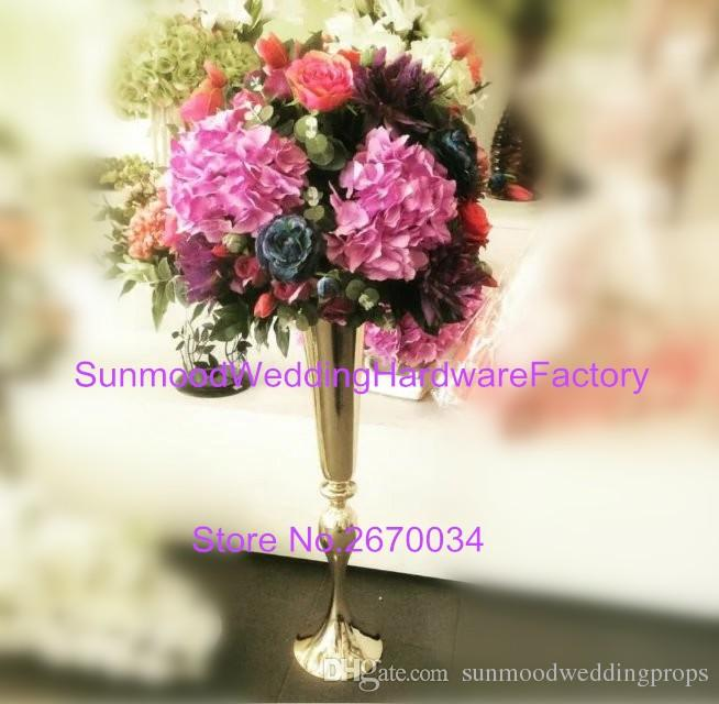 Silk flowers artificial rose wedding centerpieces flower iron new silk flowers artificial rose wedding centerpieces flower iron new vase arrangement for wedding decoration kids party boxes kids party centerpieces from mightylinksfo