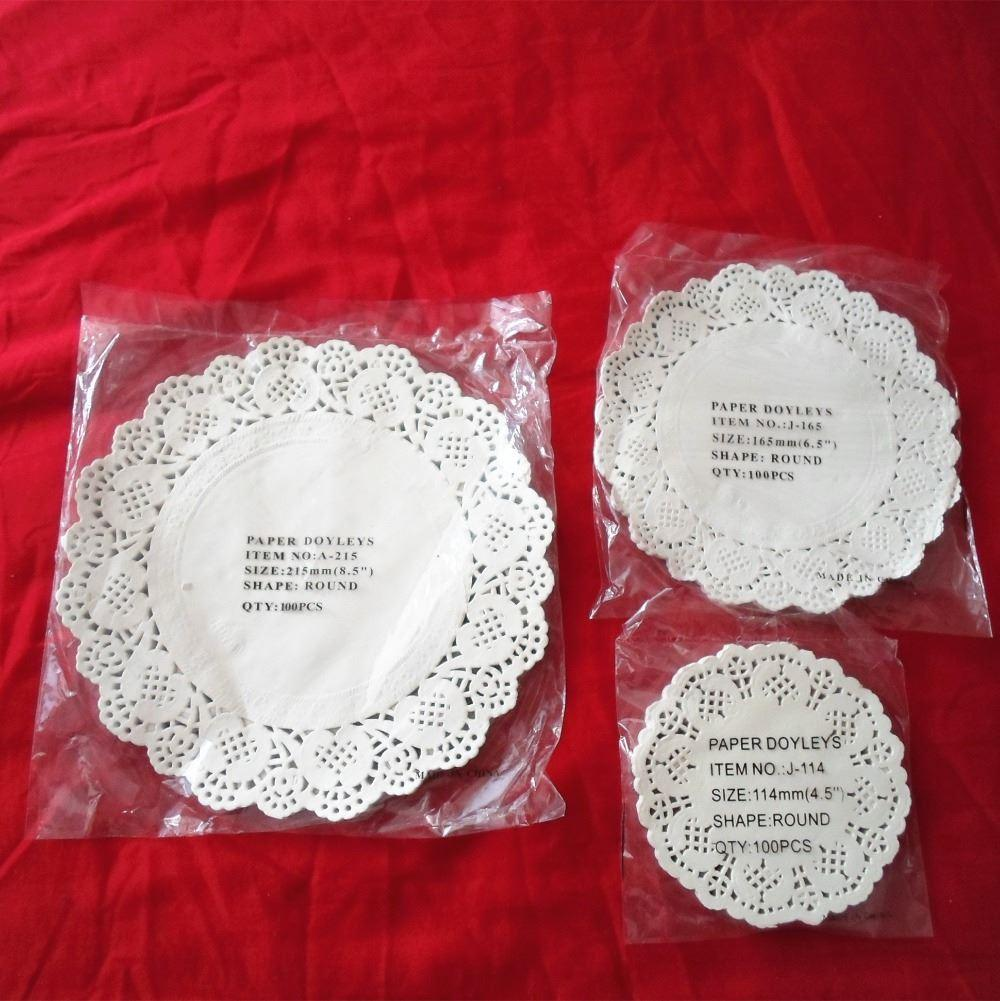 Best 4.5 6.5 8 White Round Lace Paper Doilies/Doyleys,Vintage ...