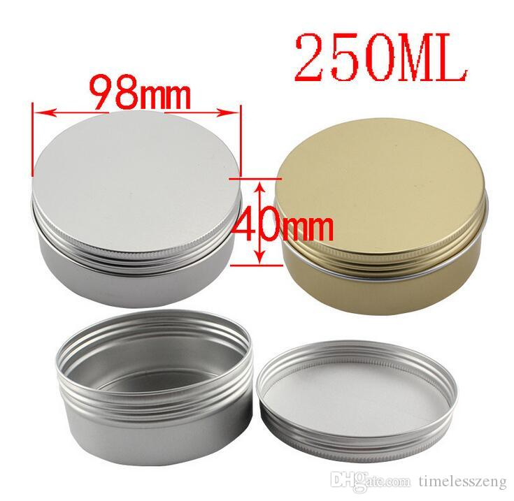 Different Size Empty Containers Container Aluminium Jar Tea Cans Aluminum Box Cases Makeup Empty Lip Gloss Jars Cosmetic Jars Box
